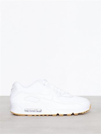 Nike Air Max 90 Woman Low Top Valkoinenruskea