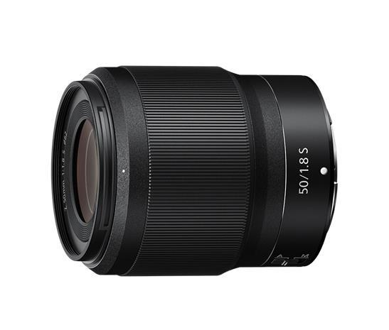Nikon Nikkor Z 50mm f/1.8 S, objektiivi
