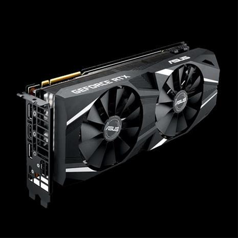ASUS GeForce RTX 2080 Dual OC 8 GB, PCI-E, näytönohjain