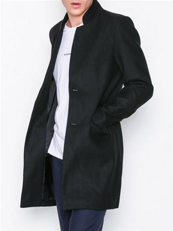 Only & Sons onsMAX Wool Trench Coat Exp Takit Musta