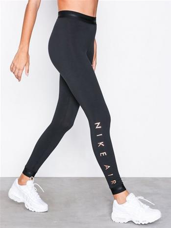 Nike Air Legging Housut Musta