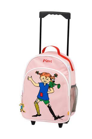 """Pippi """"Vedettävä Peppi-matkalaukku, roosa"""""""