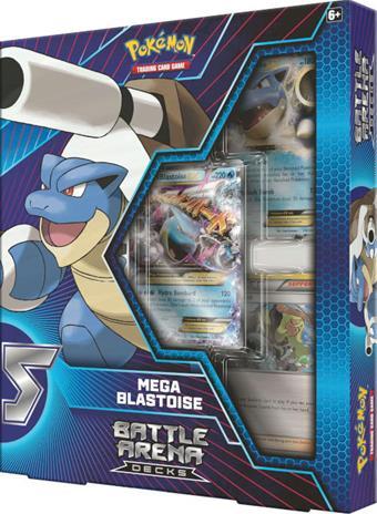 Pokemon Battle Arena Decks: Mega Blastoise