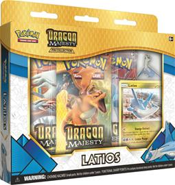Pokemon Dragon Majesty Pin Collection Latios