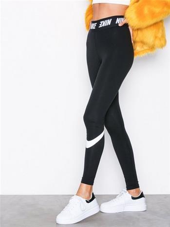 Nike NSW Club Legging HW Housut Musta