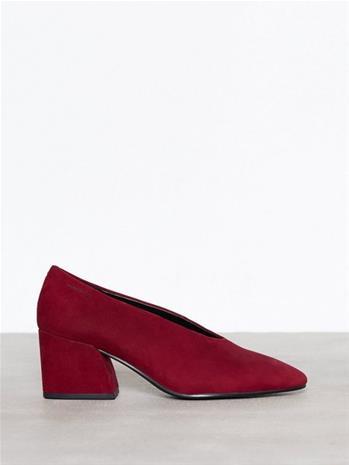 Vagabond Olivia Low Heel Red