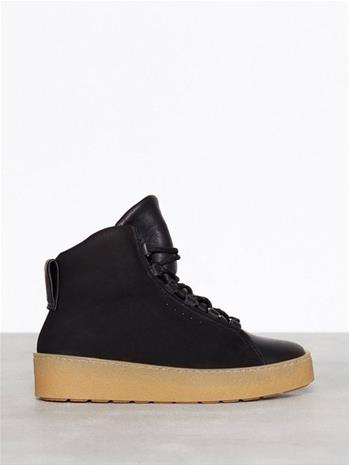 Filippa K Anna Winter Laced Boot Flat Musta