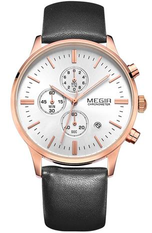 Megir Chronograph ML2011GBK-7N0