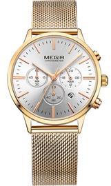 Megir Chronograph MS2011LGD-7N3
