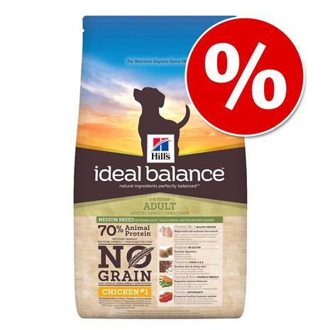 Hill's Ideal Balance No Grain koiranruoka 12 kg erikoishintaan! - Large Breed No Grain Chicken & Potato