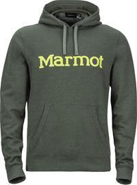 Marmot Hoody Miehet Välikerros , vihreä