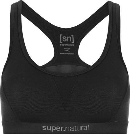 super.natural Semplice Bra 220 Naiset urheilurintaliivit , musta