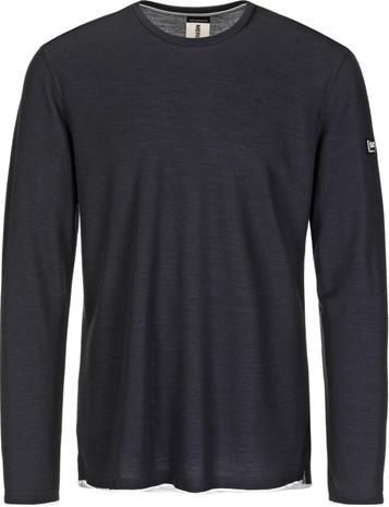 super.natural Piquet Miehet Pitkähihainen paita , sininen