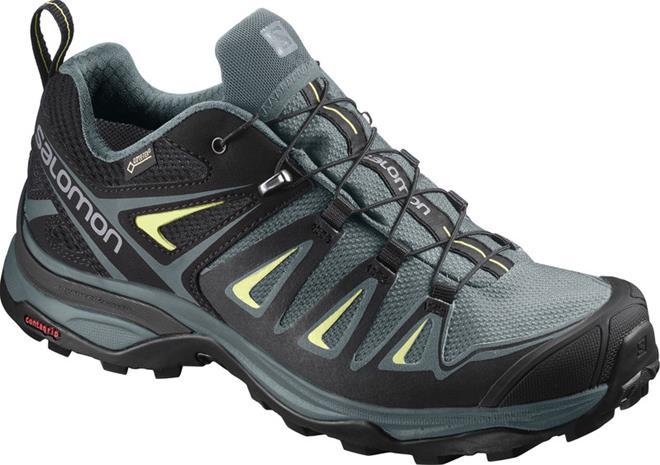 Salomon X Ultra 3 GTX Naiset kengät , harmaa/musta