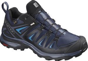 Salomon X Ultra 3 GTX Naiset kengät , sininen/musta