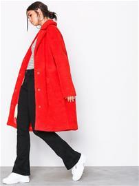 Svea Marble Jacket Pitkät takit Vaaleanpunainen