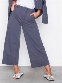 Odd Molly straight up nice pants Housut Stone Grey