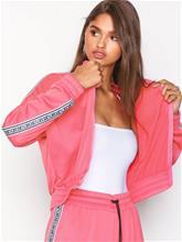 Juicy Couture JXJC Tricot Logo Stripe Jacket Hupparit Rose
