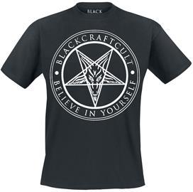 Blackcraft Cult Believe in Yourself T-paita musta