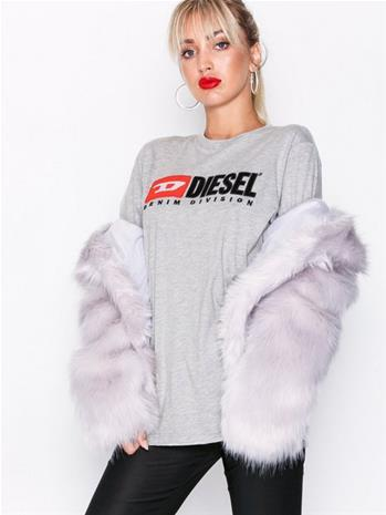 Diesel T-Just Division FL T-shir Paidat & Topit Grey Melange