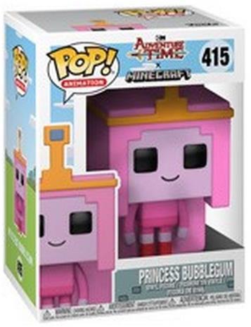Adventure Time Minecraft Princess Bubblegum Vinyl Figure 415 (figuuri) Keräilyfiguuri Standard