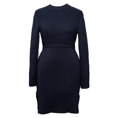 Edie Knitted Tunic Midnight Blue