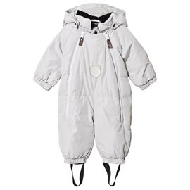 Duved Baby Overall Grey56 cm (1-3 Months)