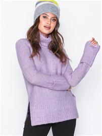 Y.A.S Yasylva Knit Pullover Neuleet Vaaleanvioletti