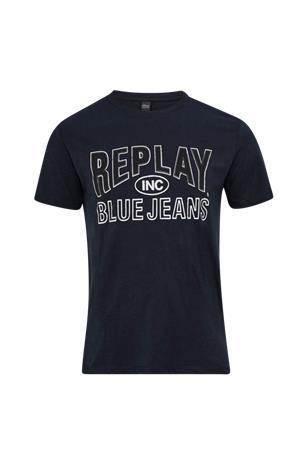"""Replay """"T-paita, jossa logopainatus edessä"""""""