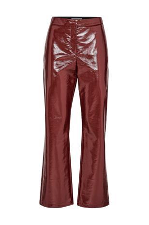 "Dagmar ""Hedi Lacquer Pants -kiiltonahkahousut"""