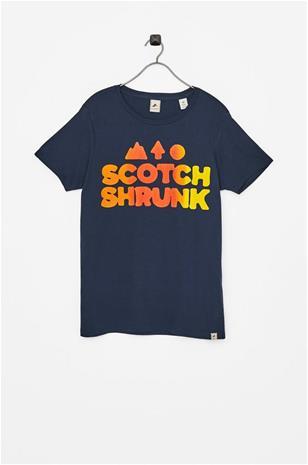 """Scotch Shrunk"""" """"T-paita, jossa painatus edessä"""