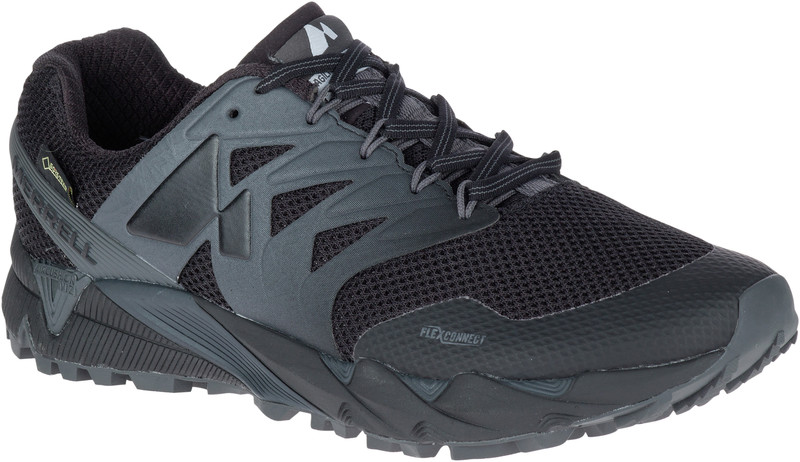 Merrell Agility Peak Flex 2 GTX Miehet kengät , musta