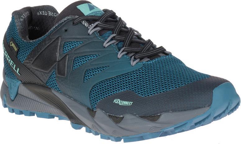Merrell Agility Peak Flex 2 GTX Miehet kengät , harmaa/petrooli