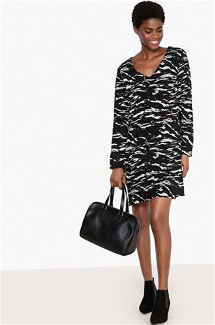 """La Redoute"""" """"Maastokuvioinen mekko, lyhyt malli"""