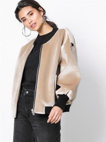 NORR Bernice jacket Bombertakit Beige