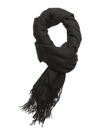 Vila Vinorth Wool Scarf/1 BLACK