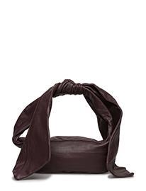 Marimekko Liina Nappa Handbag WINE RED