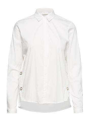 Vila Viwhite L/S Button Shirt SNOW WHITE