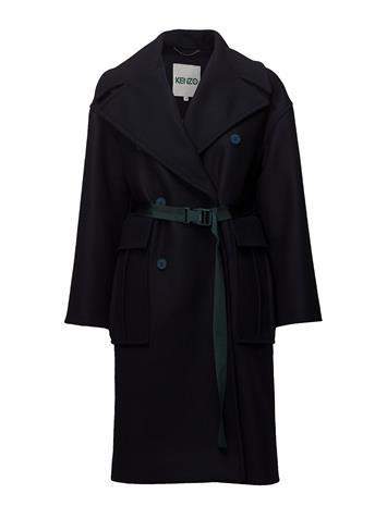 Kenzo Coat Main NAVY BLUE