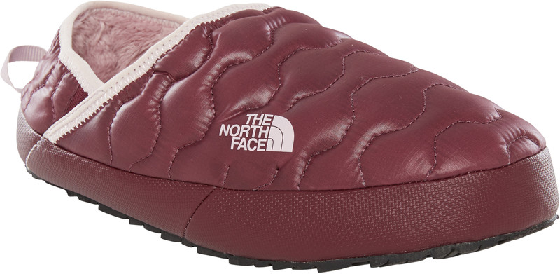 The North Face ThermoBall Traction Mule IV Naiset sisäkengät , punainen