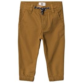 Mustard Cuffed Hem Logo Chinos2 years