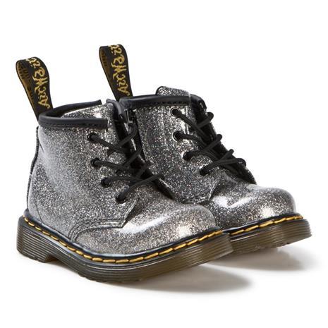 Silver Glitter 1460 Boots20 (UK 4)