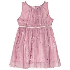 Lavender Sleeveless Dress With Golden Dots98 cm (2-3 v)