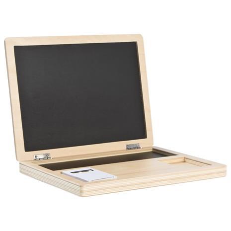 Wood Computer with Blackboard