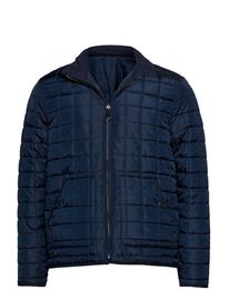 Knowledge Cotton Apparel Reversible Quilted Jacket - Grs/Veg TOTAL ECLIPSE