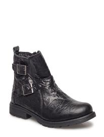 Move by Melton Girls - Winter Boot W/Buckles BLACK