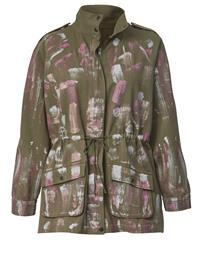 Metallinhohtoinen takki Angel of Style Khaki85771/00X