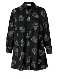 Pitkä paitapusero Angel of Style musta/valkoinen93184/60X