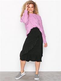 Sisters Point Givi A Skirt Midihameet Black