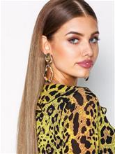 NLY Accessories Organic Metal Drop Earrings Korvakorut Kulta